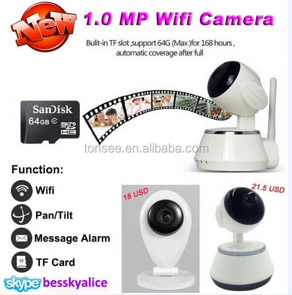 wireless home alarm system hunting equipment 2.4ghz mini cctv baby monitor