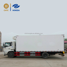 China brand 3t/5t/7t/10t small ice cream transportation freezer refrigerated box truck for sale