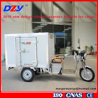 2016 new design electric express tricycle for cargo