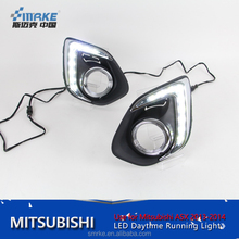 Auto parts LED daytime runnig light for Mitsubishi ASX/outlander sport DRL 2013-2014 ASX drl Fog Light Accessories