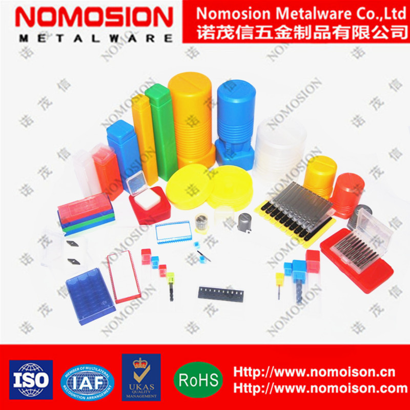 Various plastic box for cnc cutting tool