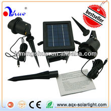 2W Portable Solar Rechargeable Spotlight For Home Use
