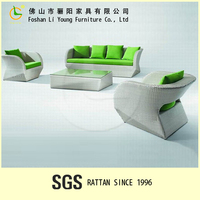 2015 LIGO High quality and best price for PE SGS Rattan Furniture Waterproof outdoor Sofa Indoor used made in china