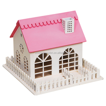 wholesale FSC&BSCI&SA8000 Wooden Bird cottage House