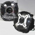 For Jeep Renegade BU 2014-2016 led Head Light Black Housing SN