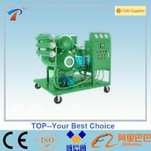Mini type online transformer oil purifier, used transformer oil regeneration purifier