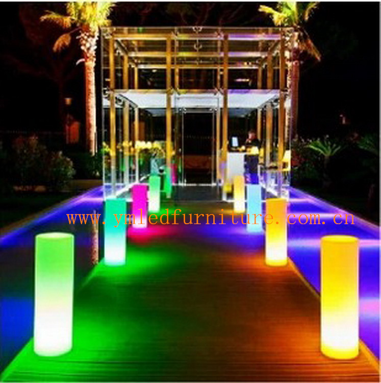 LED Light Pillar, Columns for Wedding, Light up Columns