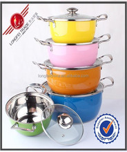316l stainless steel cooper cookware with good quality