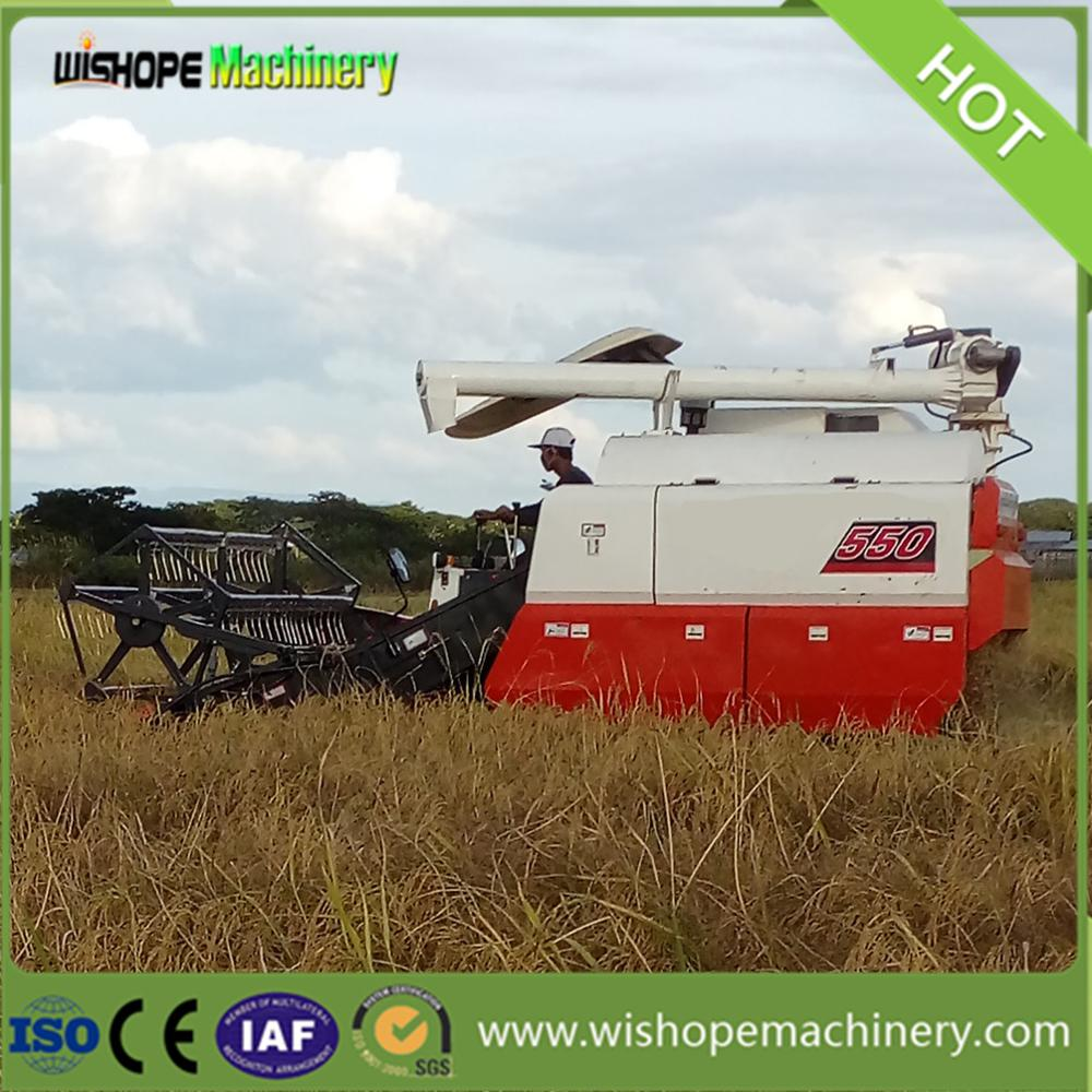 Cheap Price of Mini Grain Harvester in Cambodia