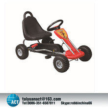 Heavy duty four wheels cheap go kart frames for children