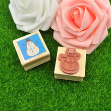 Custom Wooden Stamp Craft Rubber Stamp for Card Making