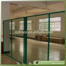 6ft wire diamond mesh pannel with 50mm*100mm mesh
