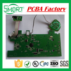Smart Bes PCB Custom Electronic Circuit PCBA Green Solder Mask and Electronic Component PCBA, FR4 PCB Assembly