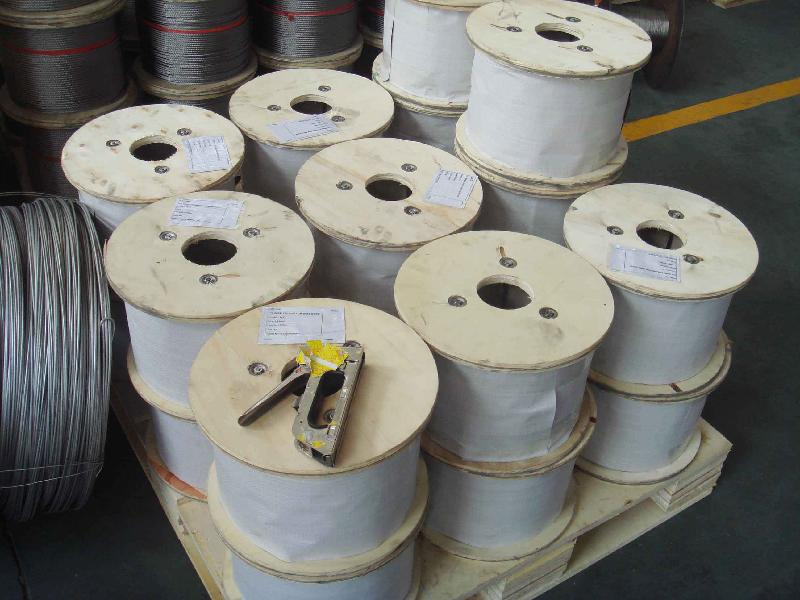 flexible stainless steel wire ropes(grade 304,316,201,410,430)