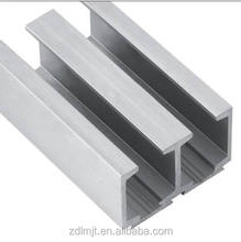 Industry Aluminum Extrusion Channel Thin Wall Mill Finished