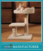 Haobay Kitty Play Yard with Loft Bed Cat Tree