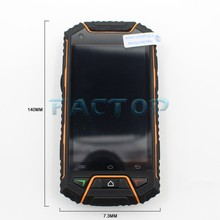 Waterproof dustproof smart phone dual sim card with android dual core NFC mobile phone