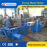 WANSHIDA Best Price! Quality Hydraulic Scrap Metal Baler
