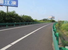 Top Accessed Guardrail Supplier / China product steel highway spray guard rail installation