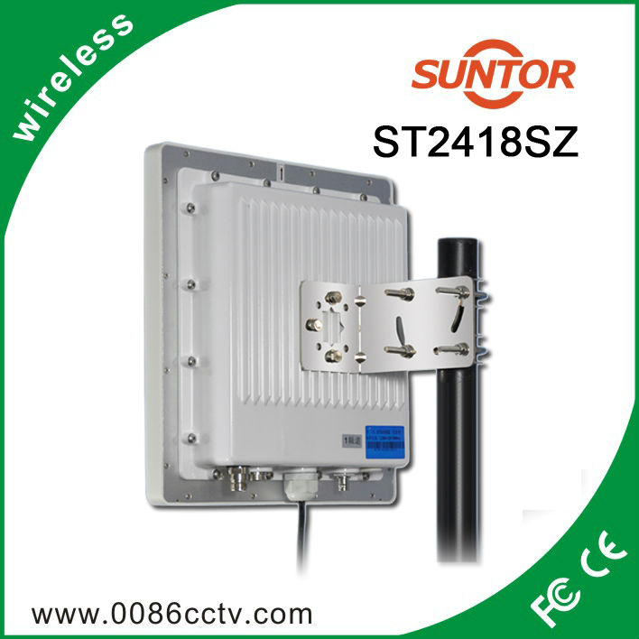 3KM 1Watt FM 2.4ghz wireless voice data transmitter and receiver