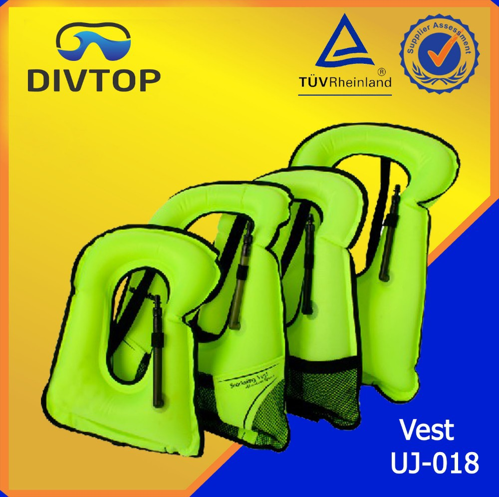 Scuba Deluxe Snorkel Vest with Crotch Strap