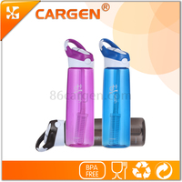 Manufacturer supply convenient travel drinking alkaline water bottle