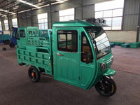 closed cabin three wheel motorcycle electric scooter for cargo china