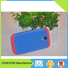 light weight plastic cell phone case for Samsung galaxy S4