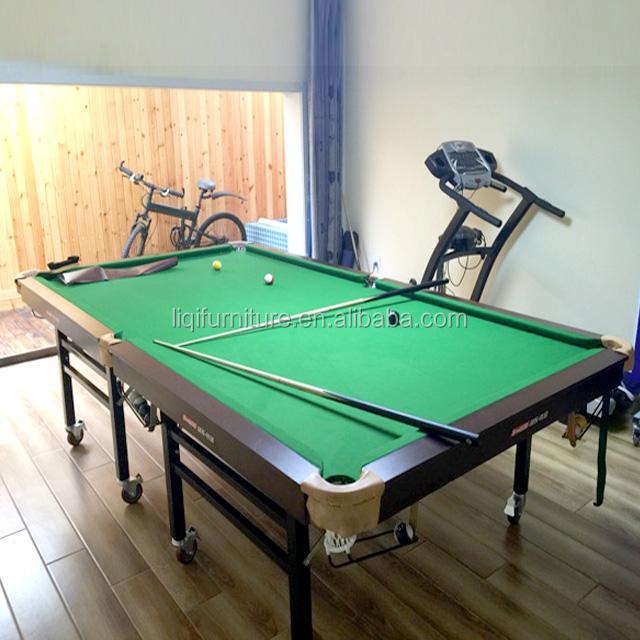 Portatile pieghevole pieghevole standard tablewheeled - Taille table snooker ...