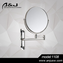 8 Inch Vanity Smart Mirror Active Double Side Wall Mounted Shaving Mirror Hotel Style Wall Mounted Make Up Mirror