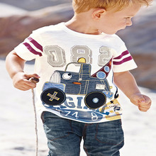 YD1047 european kids t-shirt 100 cotton baby boys t-shirt