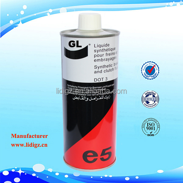 Dot 3 automobile lubricant brake fluid price