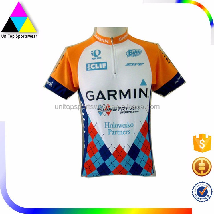 Hot selling cycling jersey sky,team sky cycling jersey for team tournament