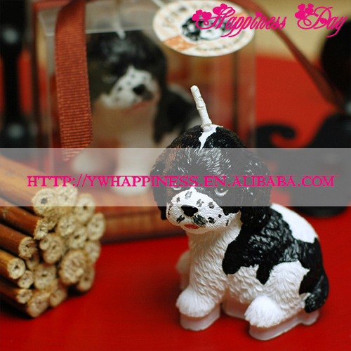 Animal Dogs Candle For Wedding Party Baby Shower Birthday Festival Souvenirs Gifts Favor