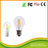 good selling high lumen A60 220v e27 b22 2w 4w 6w 8w led filament light from china manufacture