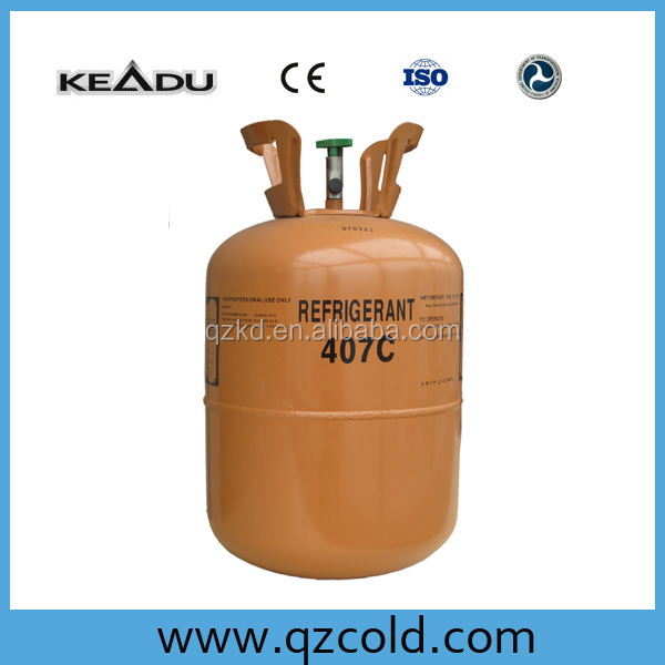Hot sale wholesale air conditioner refrigerant gas r407c hydrocarbon freezing medium