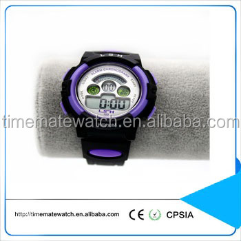 High quality custom logo silicone bracelet analog digital wrist watch for christmas gift