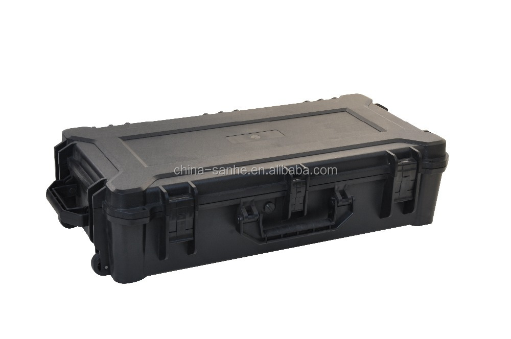 high impact waterproof military carrying gun case