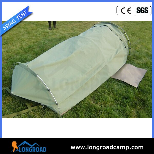 Single waterproof sherpa tent and swag mountain tent