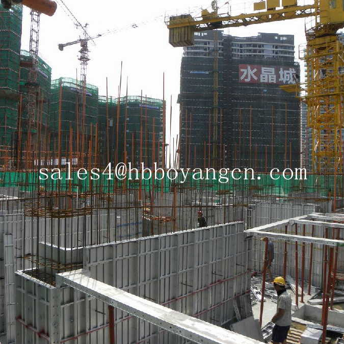 HOT SALE!! formwork construction system/ aluminum formwork panels for construction