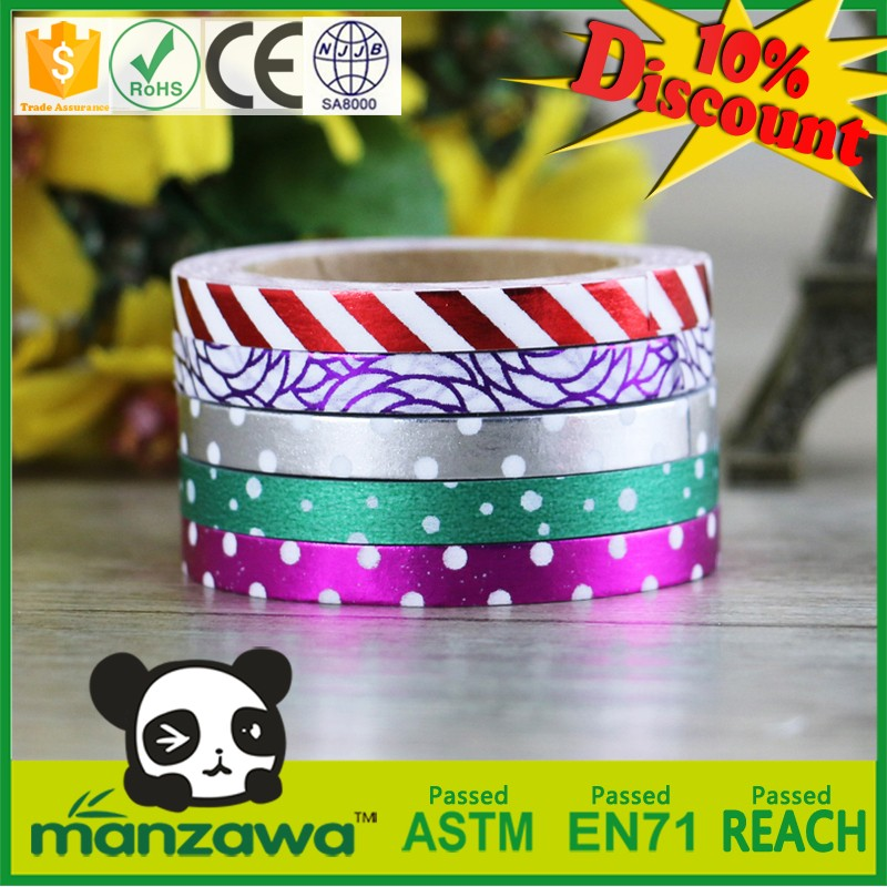 Multifunctional auto masking tape advertising tape 100% cute decoration tape