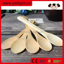 wholesale handmade wood tasting mixing salad spoon