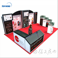 Detian Offer jewelry show cases for exhibition exhibitions display stall