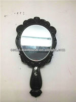 hot selling top quality promotional round shape makeup mirror with handle