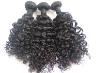 "Fast Delivery Large Stock Virgin Hair 12"" to 28"" afro kinky curly 100% indian human hair extensions"