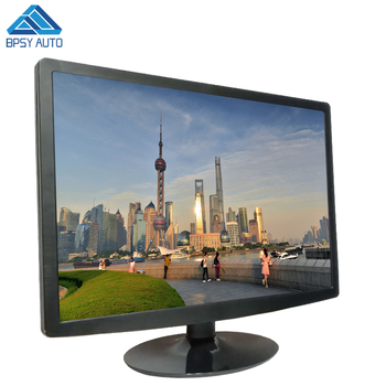 Widescreen 1680*1050 Resolution 22 Inch TFT LED HDMIED CCTV Monitor DC 12V Power Supply