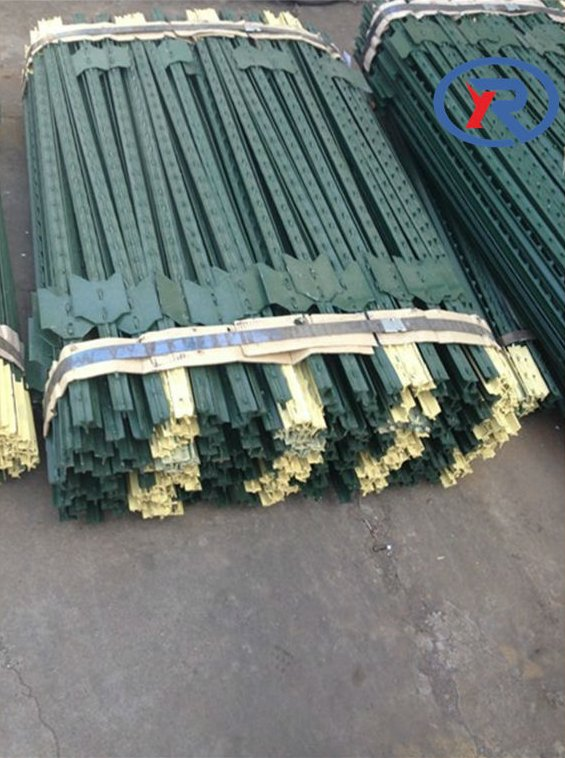 cheap Garden fencing,Steel fence posts,studded t post