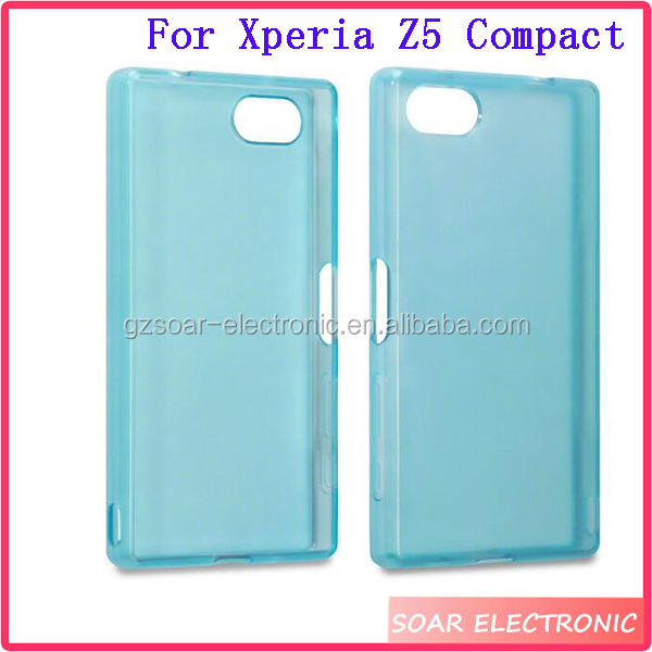 For Sony Xperia Z5 Compact TPU Case,Thin Clear Protetive Soft TPU Case Cover For Sony Xperia Z5 Compact