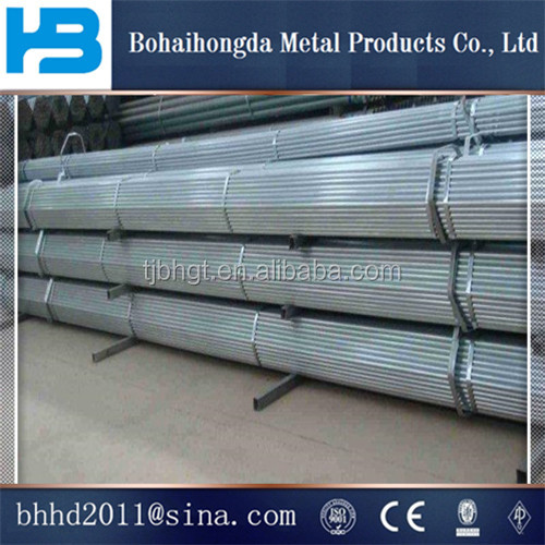 lowest price Tianjin manufacturer G3048 building materials galvanized steel pipe for greenhouse frame