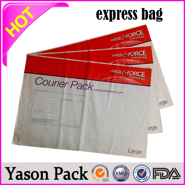 Yason adhesive type mailing bags poly customized mailing postal stachels green plastic express courier bag